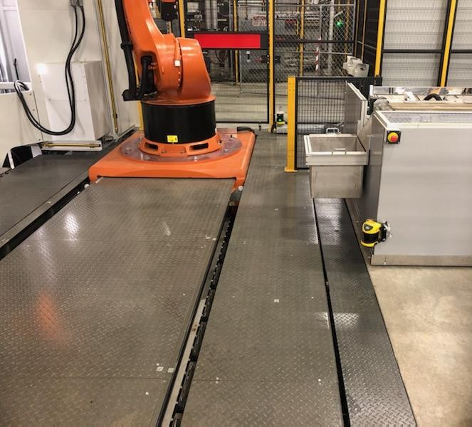 Press Pit Support Install