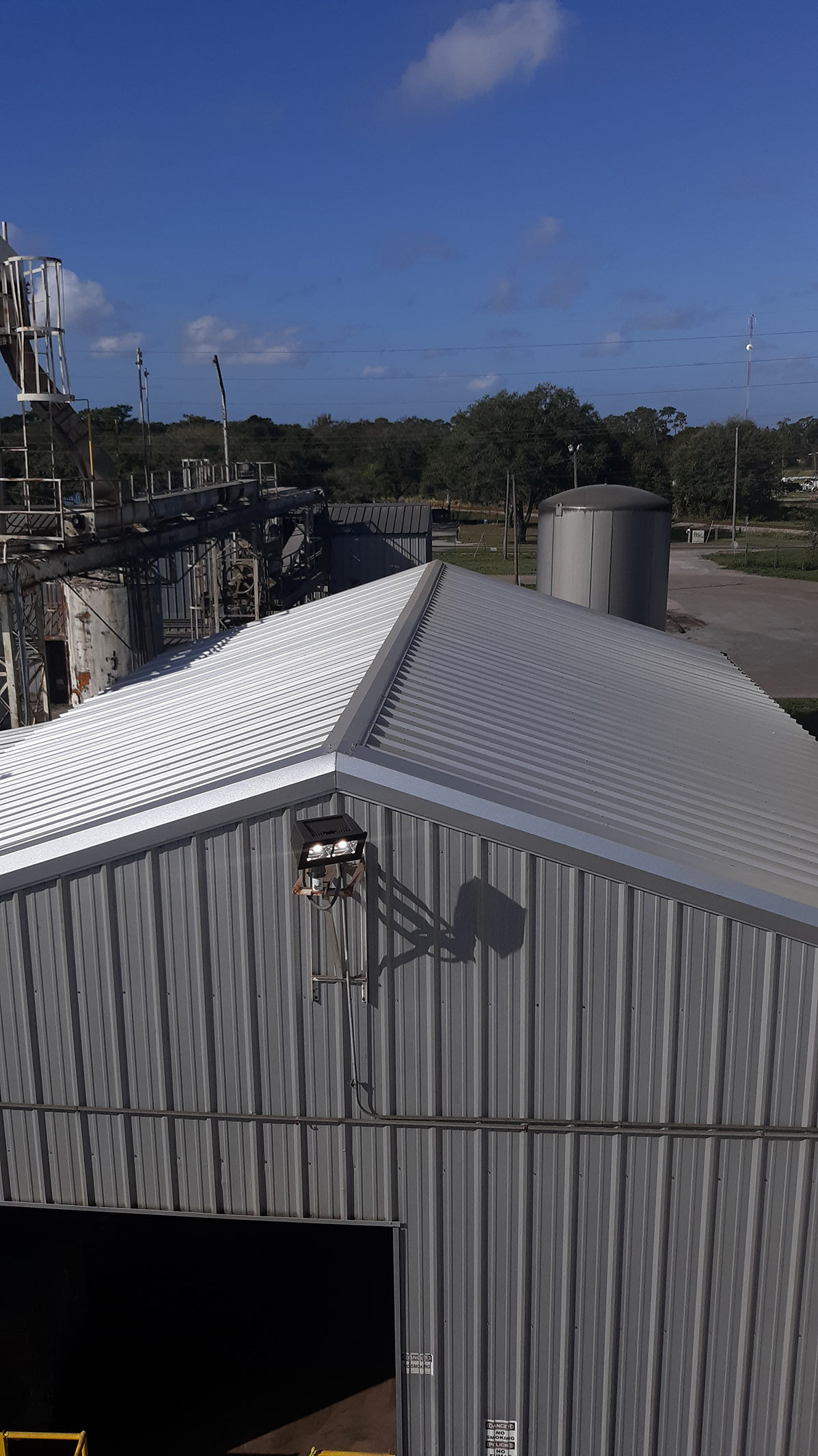 fl feed mill roof